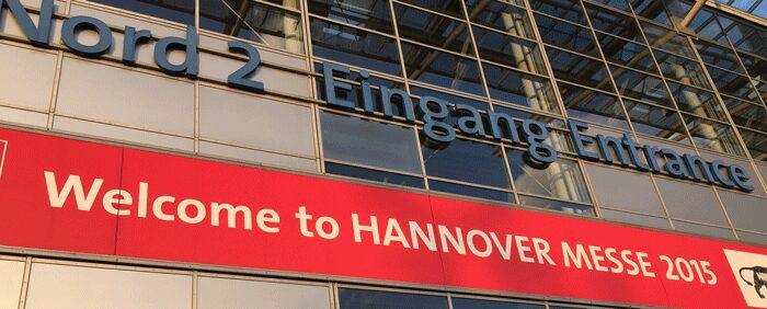 Hannover Messe Eingang Nord